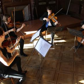 Concierto de Zura Quartet & Ávaro Iborra